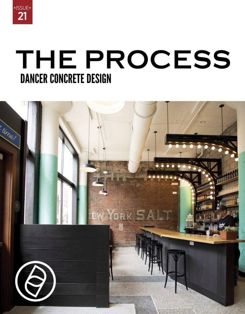 The PROCESS 21 Dancer Concrete Design COVER